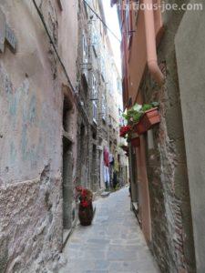 Small road in Corniglia