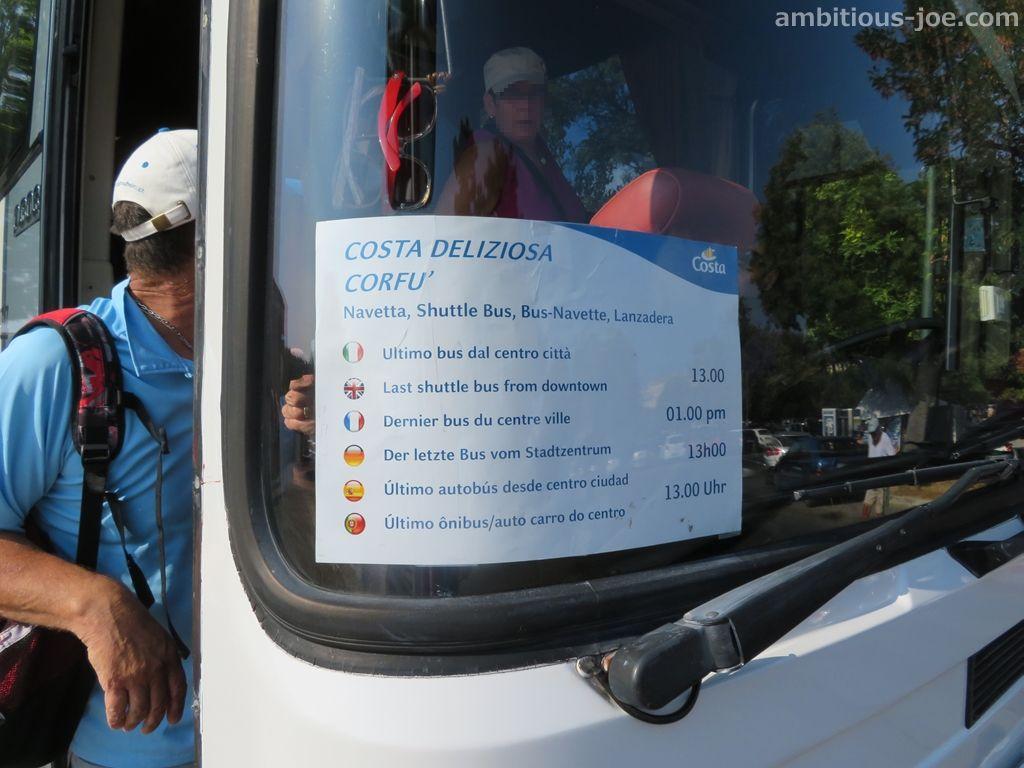 costa bus