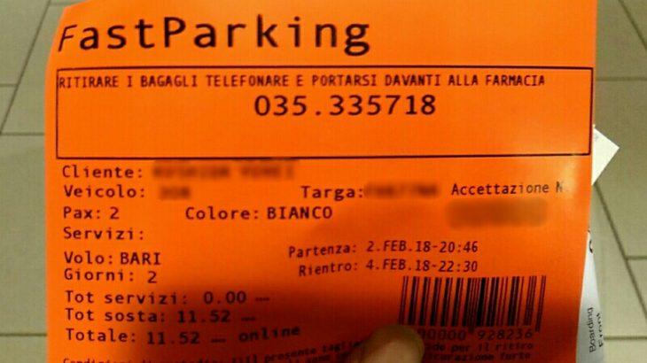 【シャトルバス送迎】イタリアの安い空港近隣民間駐車場・簡単利用方法