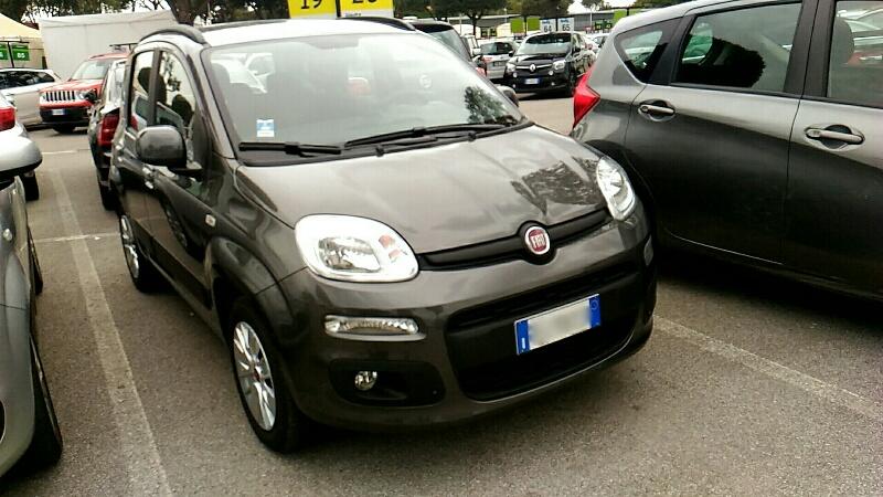 貸出車両、Fiat panda