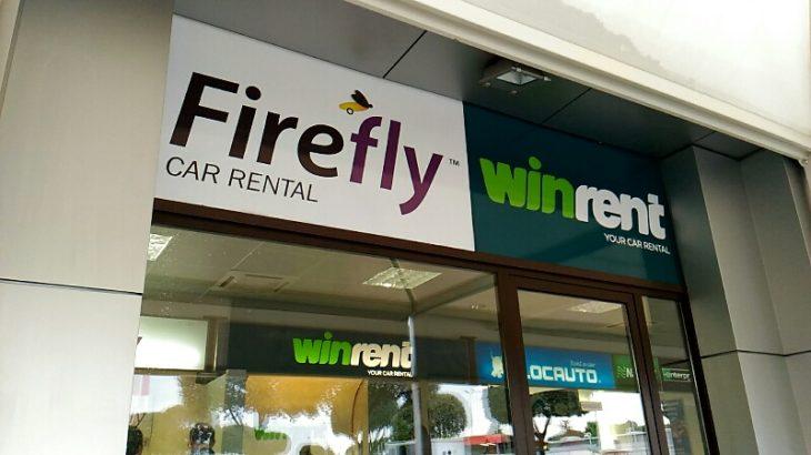 【レンタカーレビュー】Fireflyは評判最低、でも満足、使えます!