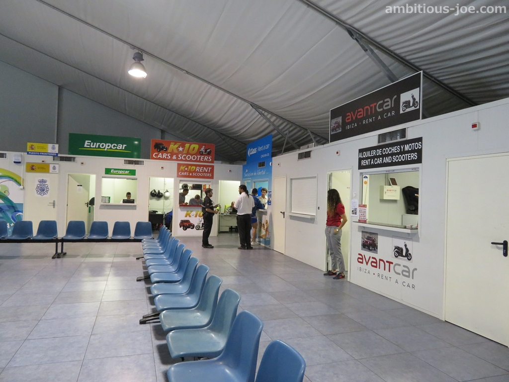 ibiza port terminal rental car offices