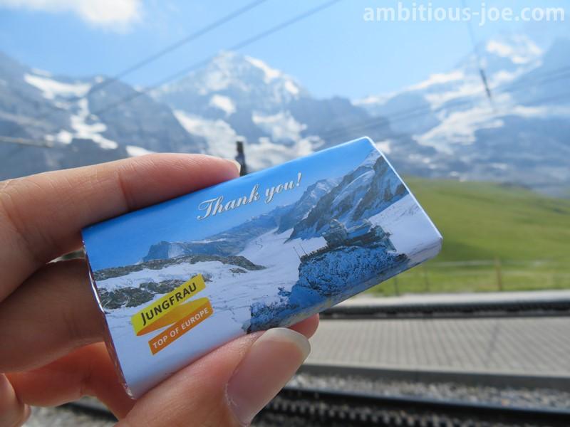 jungfraubahn chocolate