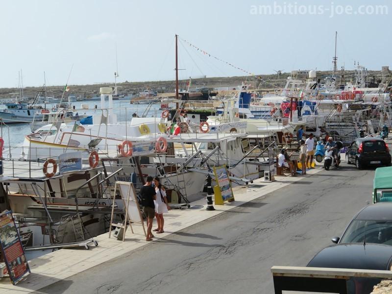 boat tours entrance