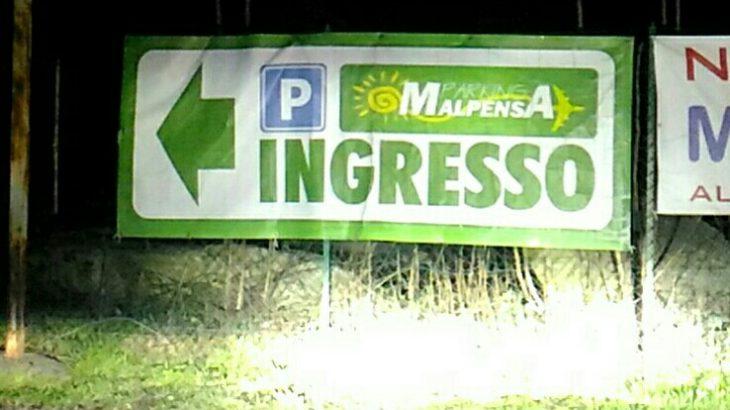 ミラノ・マルペンサ空港ターミナル2の駐車場使い分け