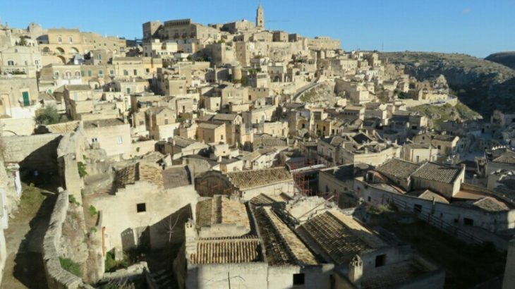pascoli - matera view point, 007 no time to die location