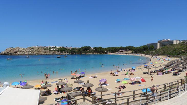 menorca beach playa arenal d'en castell