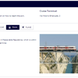 カターニャ空港からメッシーナ港へのアクセス(MSCクルーズ船の停泊港へのアクセス)