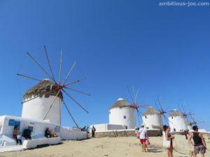 mykonos 5 windmills