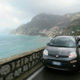 アマルフィ海岸ポジターノの駐車場事情・1時間5ユーロでも大繁盛