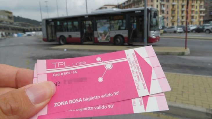 【2018年】イタリア・サボナ港と駅を結ぶ公共バスは7番線1.5ユーロ