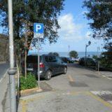 カプリ島の玄関、ソレント港の安心駐車場