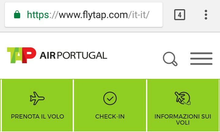 TAPポルトガル航空アクセス地域ページ
