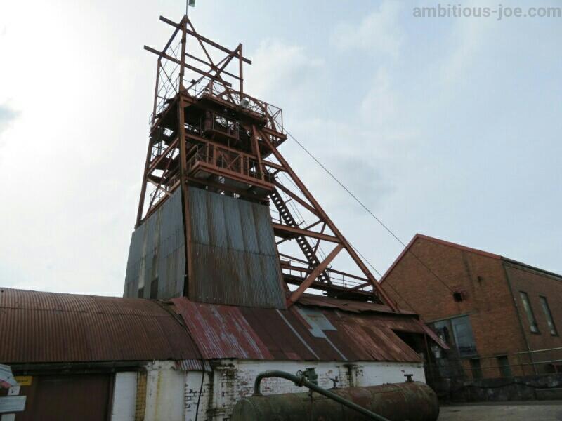 Big Pit炭鉱エレベータ