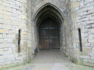 Caernarfon城 扉